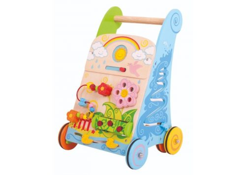 Bigjigs Baby Wooden Flower Activity Walker