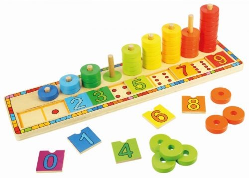 Bigjigs Toys Wooden Learn to Count