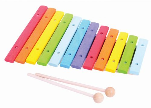 Bigjigs Toys Wooden Snazzy Xylophone