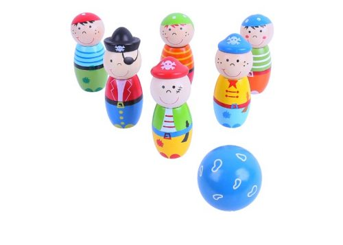 Bigjigs Toys Wooden Pirate Skittles