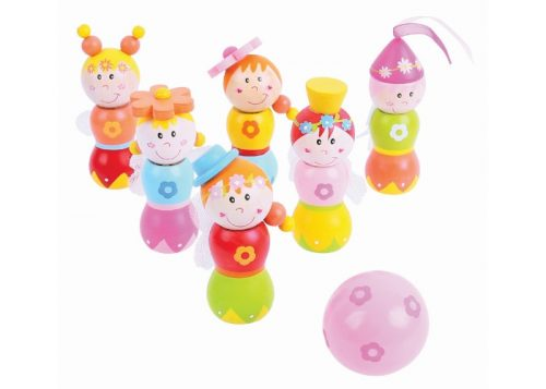 Bigjigs Toys Wooden Fairy Skittles
