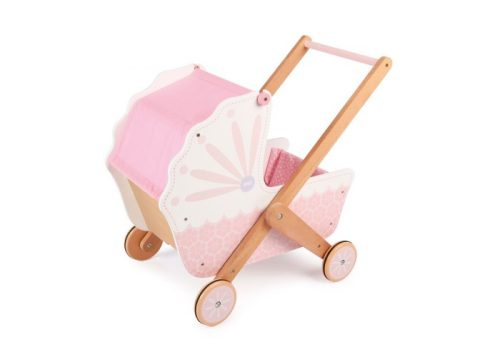 Tidlo 3-in-1 Wooden Doll's Pram