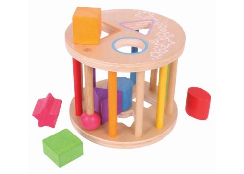 Bigjigs Toys My First Rolling Shape Sorter