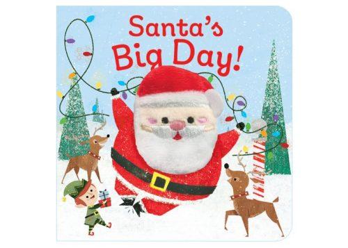 Santa's Big Day Finger Puppet Board Book
