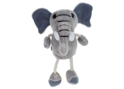 Elephant Finger Puppet Animal by The Puppet Company