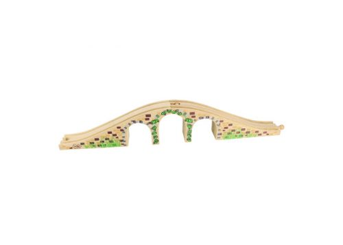 Bigjigs Rail Wooden Three Arch Bridge