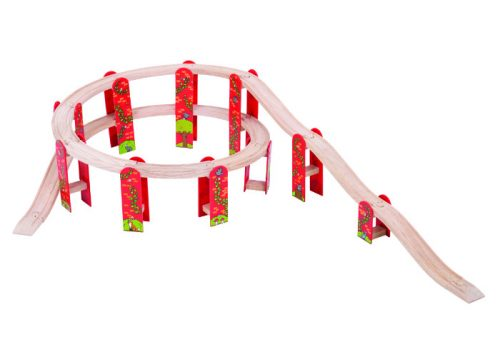 Bigjigs Rail High Level Track Expansion Pack