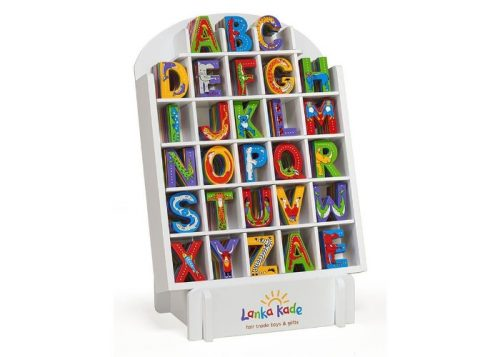 Lanka Kade Fair Trade Wooden Animal Letters