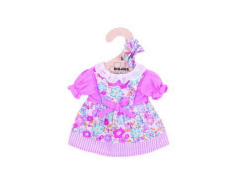 Bigjigs Toys Pink Floral Dress for 28cm Dolls