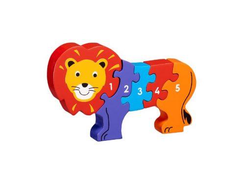 Lanka Kade Fair Trade Wooden Lion 1-5 Jigsaw