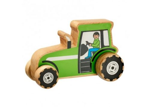 Lanka Kade Fair Trade Chunky Wooden Tractor