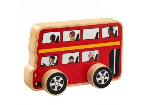 Lanka Kade Fair Trade Wooden London Bus