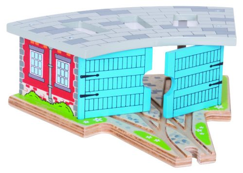 Bigjigs Rail Triple Engine Shed