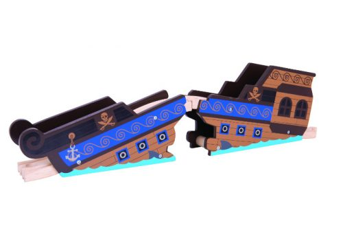 Bigjigs Rail Wooden Shipwreck Bridge