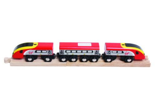 Bigjigs Rail Virgin Pendolino Train