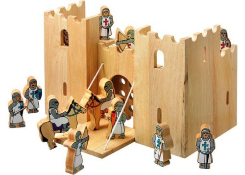Lanka Kade Fair Trade Wooden Castle Playscene