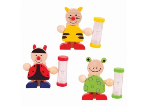 Bigjigs Toys Wooden Animal Toothbrush Timer