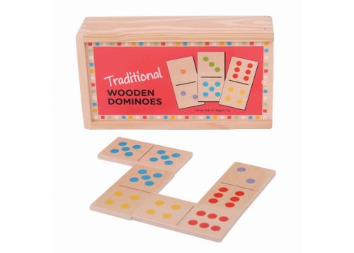 Bigjigs Toys Traditional Dominoes