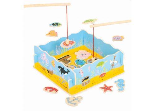 Bigjigs Toys Wooden Fishing Game