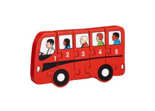Lanka Kade Fair Trade Bus 1- 5 Puzzle