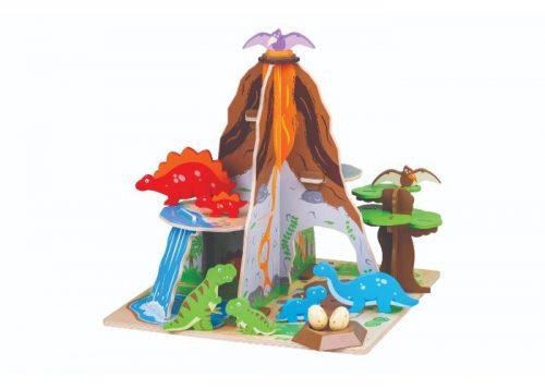 Bigjigs Toys Wooden Dinosaur Island