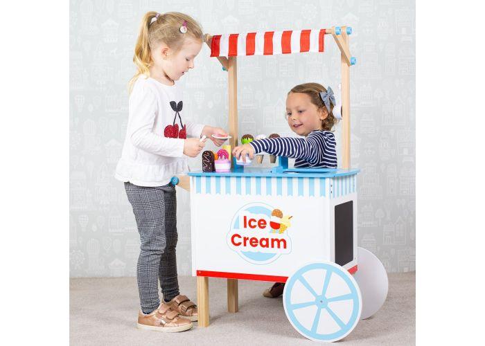 Bigjigs Toys Ice Cream Cart