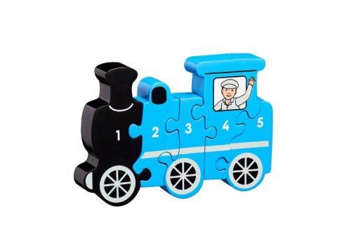 Lanka Kade Fair Trade Train 1- 5 Puzzle