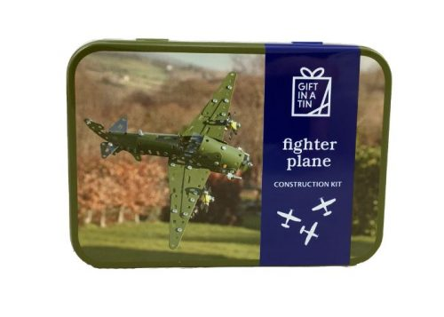 Apples to Pears Gift in a Tin Fighter Plane