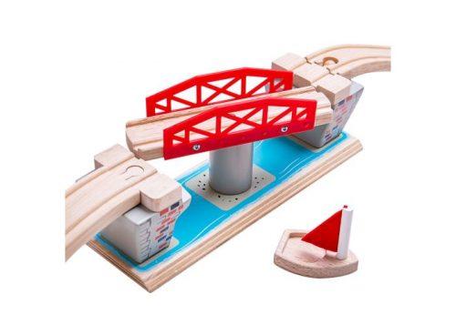 Bigjigs Rail Wooden Swing Bridge