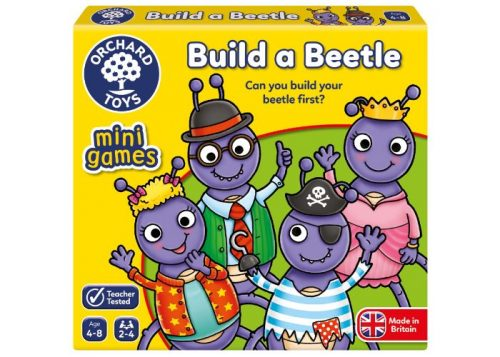 Orchard Toys Mini Games Build a Beetle