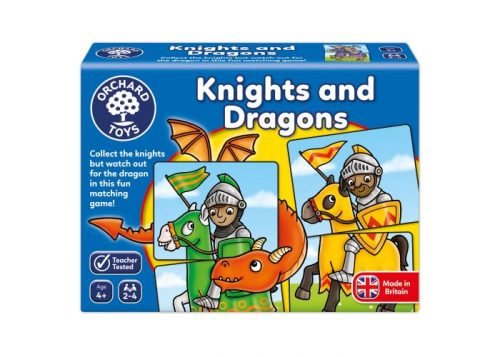 Orchard Toys Knights and Dragons Fun Learning Game
