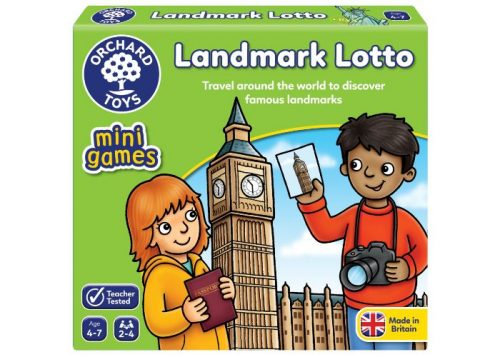 Orchard Toys Mini Games Landmark Lotto