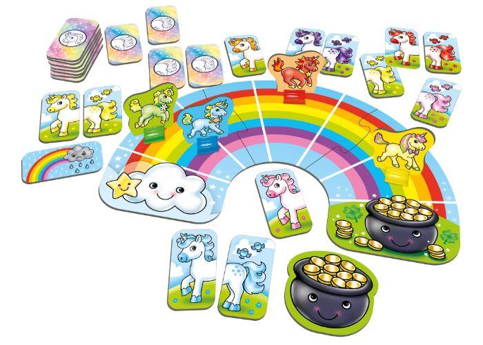 Orchard Toys Rainbow Unicorns Fun Learning Game