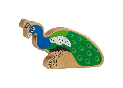 Lanka Kade Natural Blue and Green Peacock