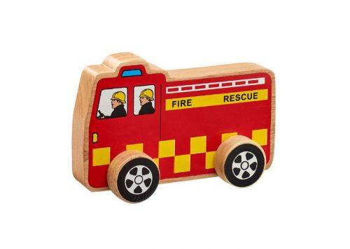 Lanka Kade Fair Trade Wooden Fire Engine