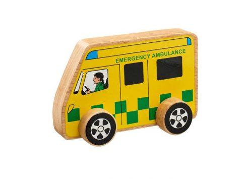 Lanka Kade Fair Trade Wooden Ambulance