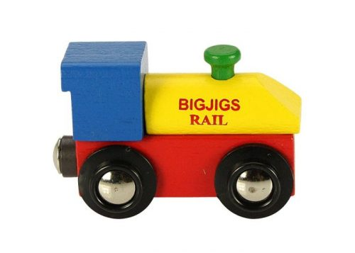Bigjigs Rail Wooden Rail Name Engine