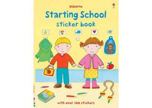 Usborne Starting School Sticker Book
