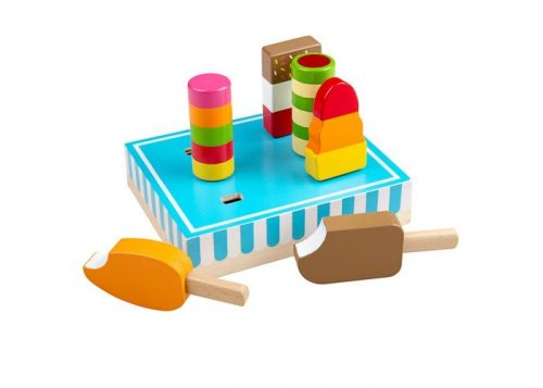 Bigjigs Toys Wooden Ice Lollies
