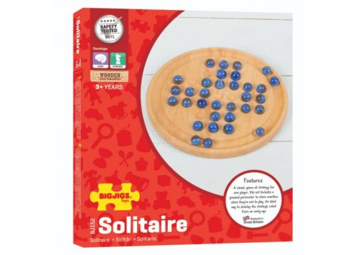 Bigjigs Toys Wooden Solitaire Game