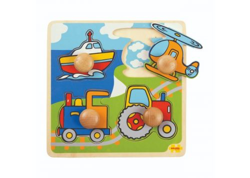 Bigjigs Toys My First Peg Puzzle Transport