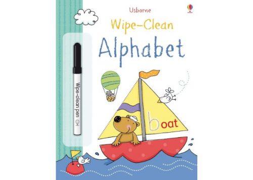 Usborne Wipe-Clean Alphabet Book