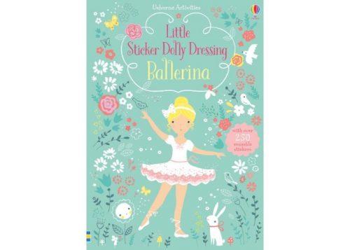 Usborne Little Sticker Dolly Dressing Ballerina