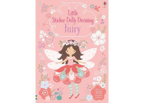 Usborne Little Sticker Dolly Dressing Fairy