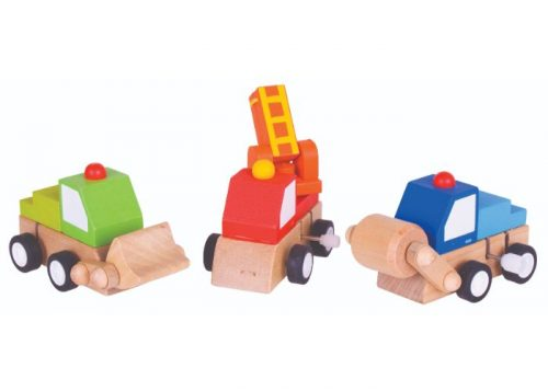 Bigjigs Toys Wooden Clockwork Vehicle