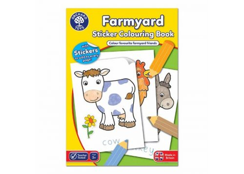 Orchard Toys Farmyard Sticker Colouring Book