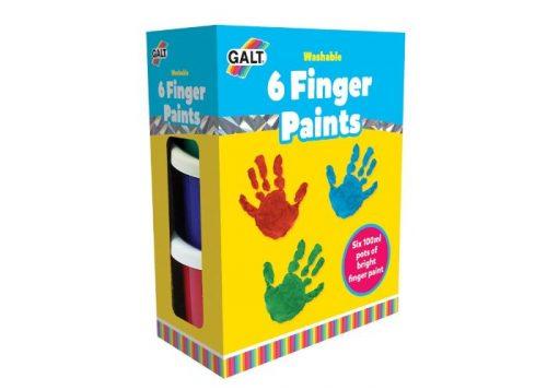 GALT 6 Finger Paints Washable