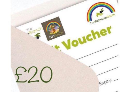 £20 Olive Branch & Rainbow Room Gift Voucher