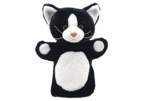 Black and White Cat Puppet Buddies Hand Puppet