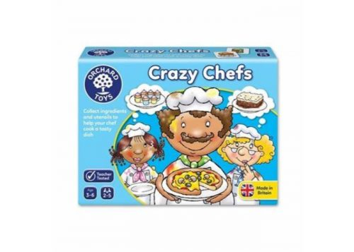 Orchard Toys Crazy Chefs Fun Learning Game